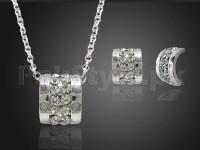 Delicate Silver Jewelry Set in Pakistan