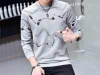 Men's Grey Fleece Sweatshirt in Pakistan