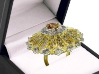 Stunning Floral AD Ring in Pakistan