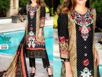 Star Royal Linen Suit with Shawl Dupatta 12011-B in Pakistan
