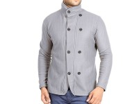 Stylish Men's Winter Coat - Grey in Pakistan