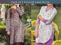 Pack of 2 Sitara Sapna Lawn Suits of Your Choice Price in Pakistan