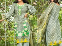 Satrangi Embroidered Cambric Cotton Dress 3-A Price in Pakistan