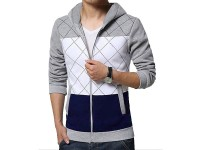 Stylish Men's Winter Hoodie - Grey in Pakistan