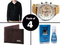 Combo Pack of 4 Men's Fashion Products in Pakistan