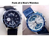 Pack of 2 Mens Watches Price in Pakistan