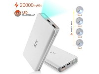 GJT Power Bank 20000mAh with LED Light & Dual USB Ports Price in Pakistan
