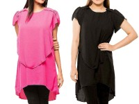 Pack of 2 Stylish Chiffon Tops in Pakistan