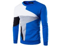 Stylish Men's Sweatshirt - Blue in Pakistan
