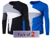 Pack of 2 Stylish Men's Sweatshirts in Pakistan