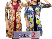 Pack of 2 Shrug Style Floral Tops in Pakistan