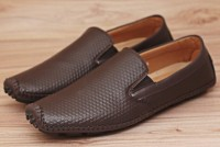 Comfortable Stylish Men's Loafers White Brown in Pakistan