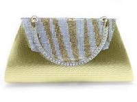 Girls Fancy Clutch Bag - Golden in Pakistan