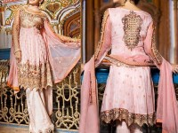 Stylish Embroidered Chiffon Dress in Pakistan