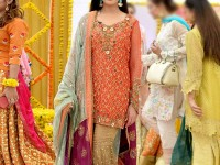 Multicolor Heavy Embroidered Chiffon Suit Price in Pakistan