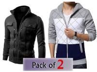 Pack of 2 Men's Jacket & Winter Hoodie in Pakistan