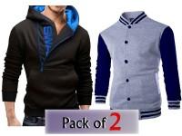 Pack of 2 Varsity Jacket & Swag Hoodie in Pakistan