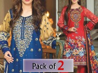 Pack of 2 Star  Khaddar Suits of Your Choice in Pakistan