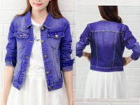Export Quality Women's Denim Jacket in Pakistan