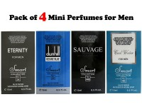 Pack of 4 Mini Perfumes for Men in Pakistan