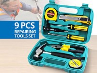 9-Pieces Home Repairing Tools Set Price in Pakistan