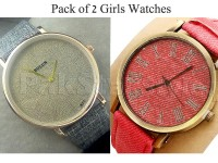 Pack of 2 Girls Watches in Pakistan