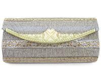 Golden Fancy Clutch Bag in Pakistan