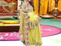 Embroidered Net Bridal Lehenga Dress in Pakistan