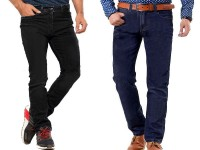 Pack of 2  Men's Straight Fit Jeans in Pakistan