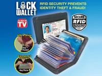 Ultra Slim Lock Wallet  in Pakistan