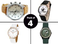 Combo Pack of 4 Men's Watches Price in Pakistan