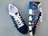 Multicolor Pattern Design Casual Shoes Price in Pakistan