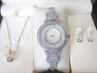 Elegant Watch & Pendant Gift Set in Pakistan