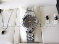 Elegant Watch & Jewellery Gift Set in Pakistan