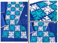 3-Pieces Sindhi Handicraft Aplic Work Cotton Suit in Pakistan