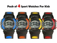 Pack of 4 Kids Sports Watches in Pakistan