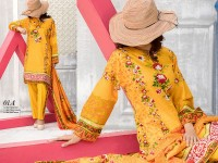 VS Classic Lawn 2018 with Lawn Dupatta VS-1A in Pakistan