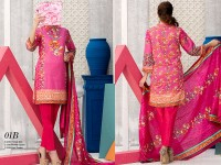 VS Classic Lawn 2018 with Lawn Dupatta VS-1B in Pakistan