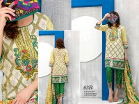 VS Classic Lawn 2018 with Lawn Dupatta VS-3B in Pakistan