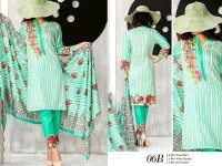 VS Classic Lawn 2018 with Lawn Dupatta VS-6B in Pakistan