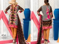 VS Classic Lawn 2018 with Lawn Dupatta VS-7A in Pakistan