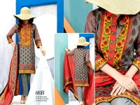VS Classic Lawn 2018 with Lawn Dupatta VS-8B in Pakistan