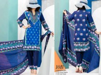 VS Classic Lawn 2018 with Lawn Dupatta VS-10B in Pakistan