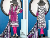 VS Classic Lawn 2018 with Lawn Dupatta VS-12A in Pakistan
