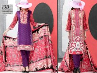 VS Classic Lawn 2018 with Lawn Dupatta VS-13B in Pakistan