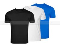 3 Plain Round Neck T-Shirts in Pakistan
