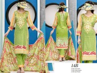 VS Classic Lawn 2018 with Lawn Dupatta VS-14B in Pakistan