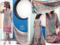 VS Classic Lawn 2018 with Lawn Dupatta VS-16B in Pakistan