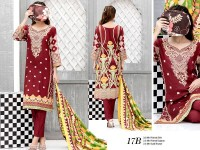 VS Classic Lawn 2018 with Lawn Dupatta VS-17B in Pakistan