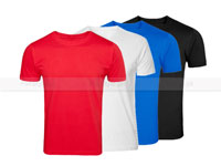4 Plain Round Neck T-Shirt Bundle Offer in Pakistan